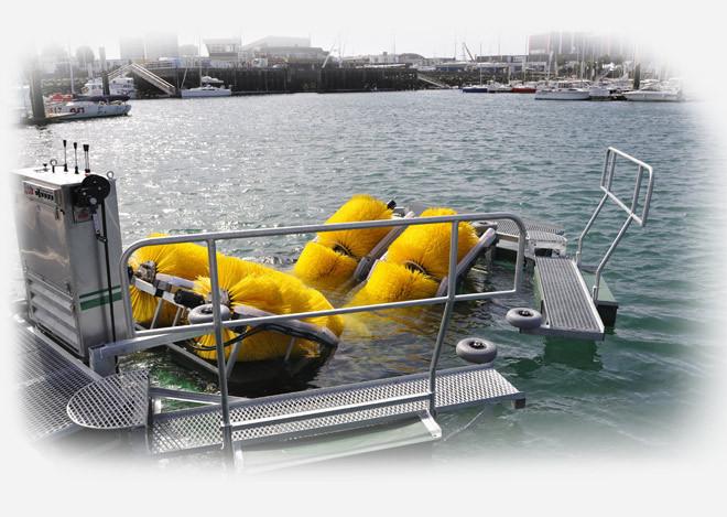 Entretien coque bateau antifouling