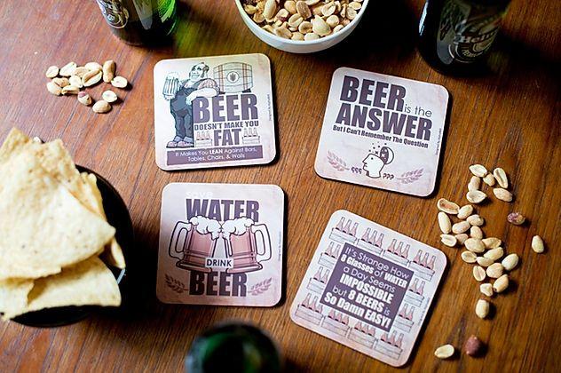 Beer Coasters Set