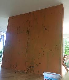 Malerarbeiten veredeln Untergründe