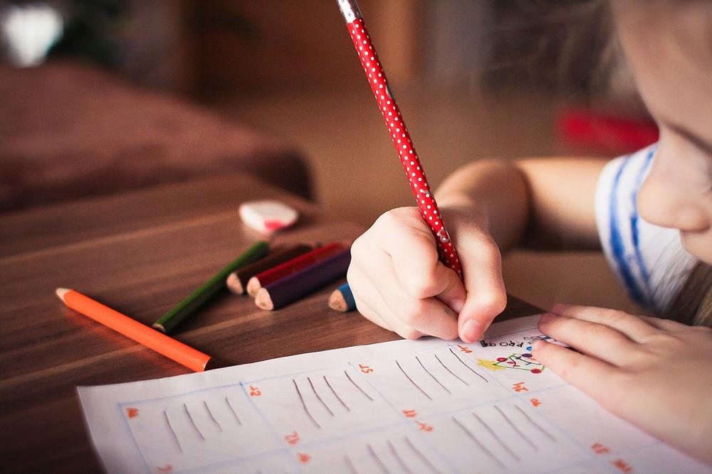 devoirs enfant
