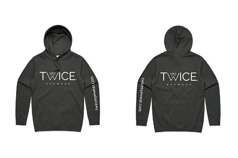 Twice Charcoal Hoodie
