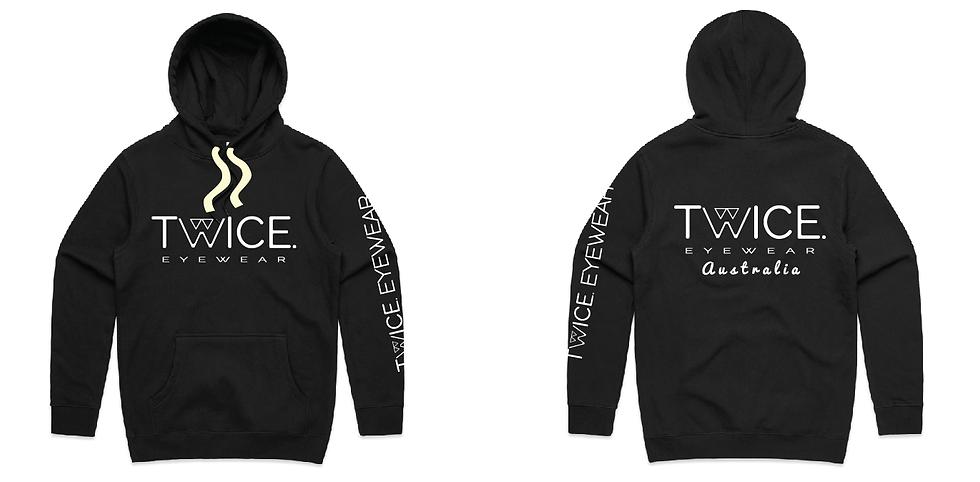 Twice Australia Hoodie (black)