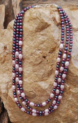 Fresh Water Pearls 3 strand