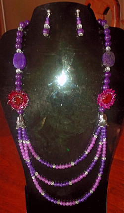 candy Jade, Crystal Quartz,