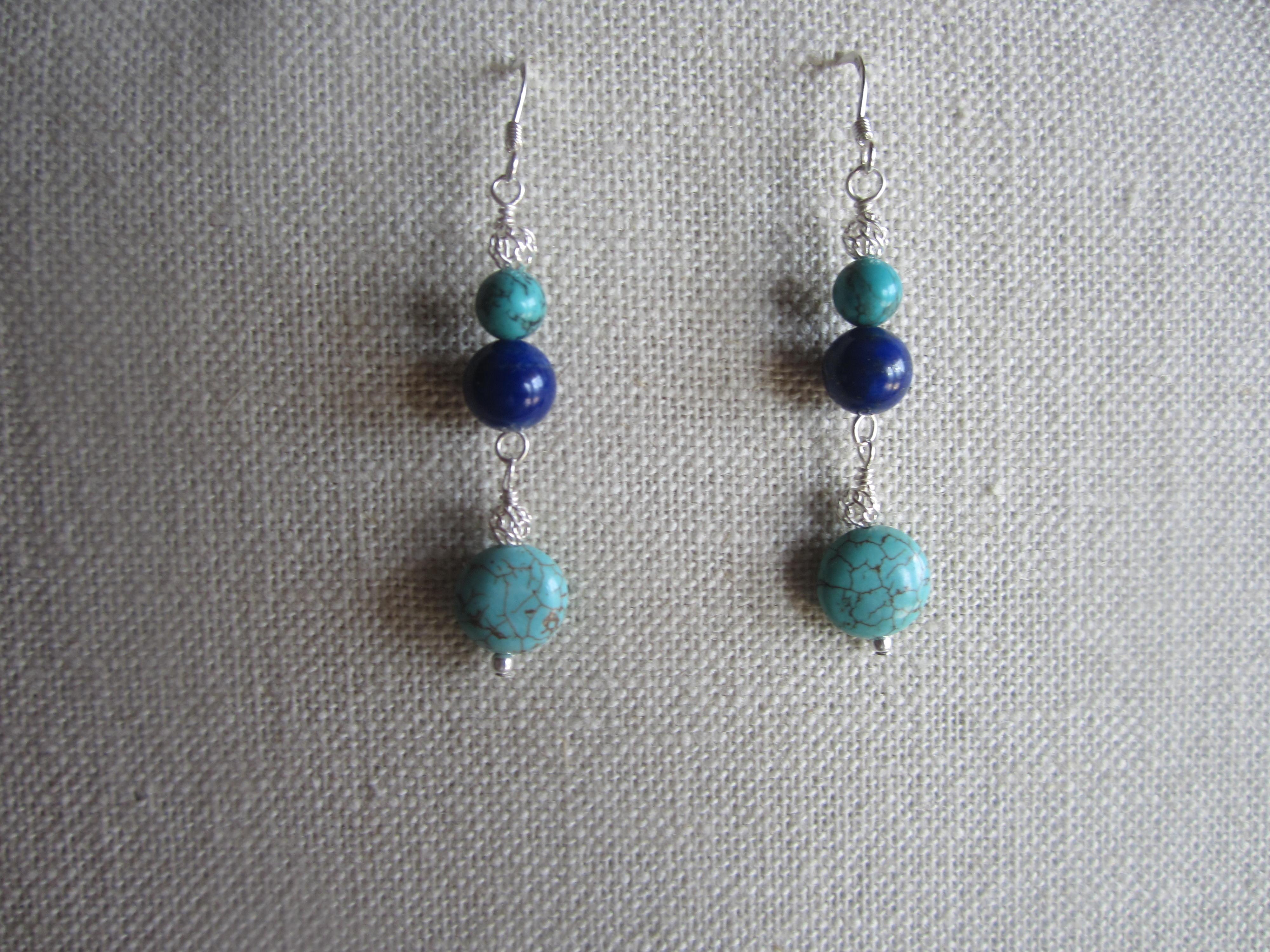 Lapiz & turquoise