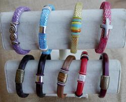 Leather Bangle designs