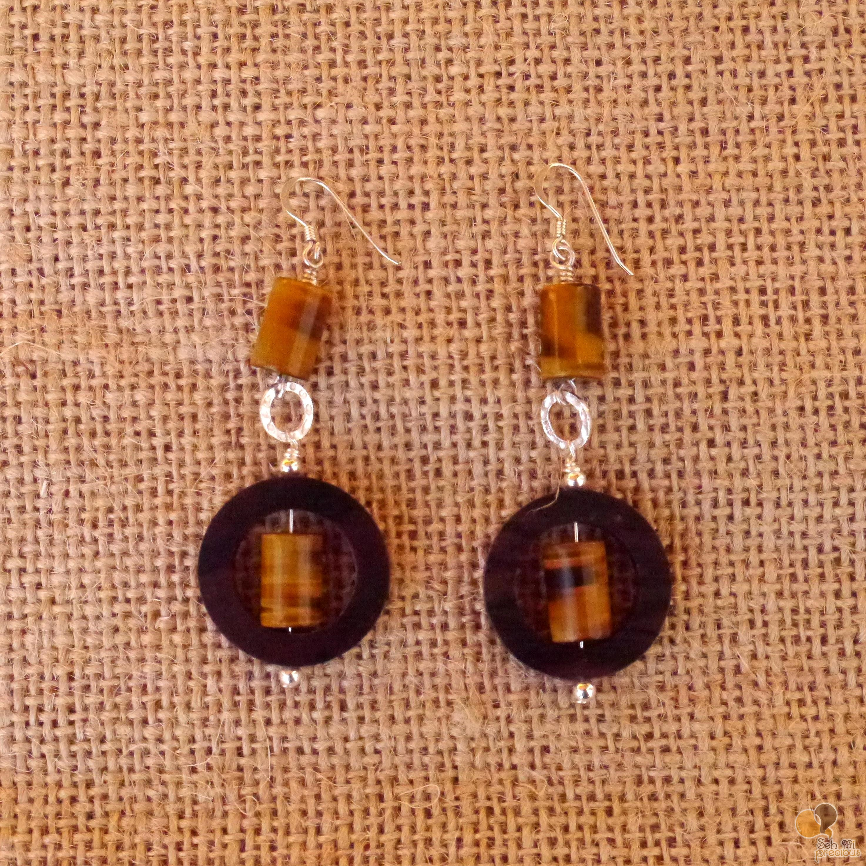 Tigers Eye & Pakitan wood