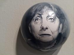 Merkel aus Behind Borders