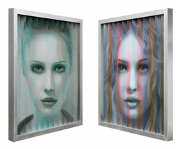Multipersonality #37 (left/right)
