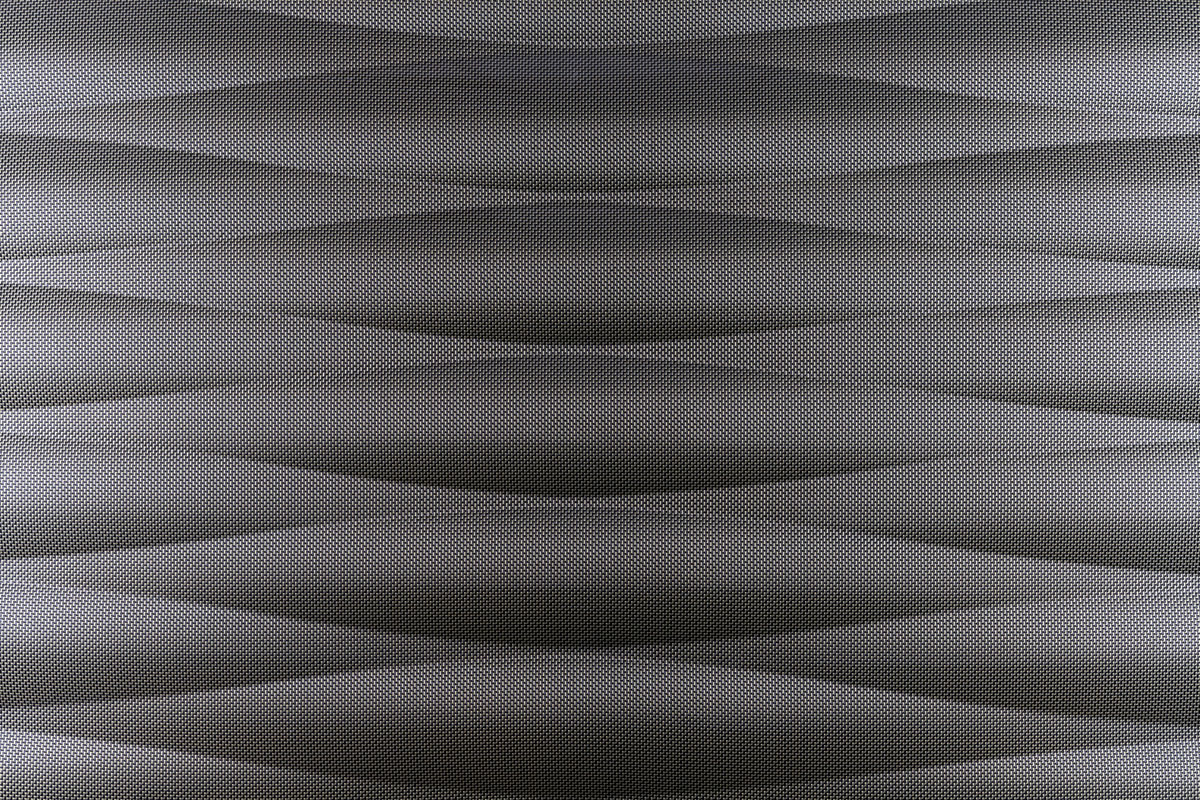 carbon waves - wall sculpture