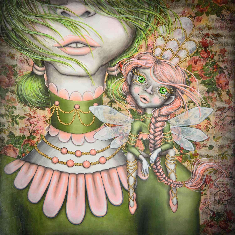 Giana Giant and Finja Fairy