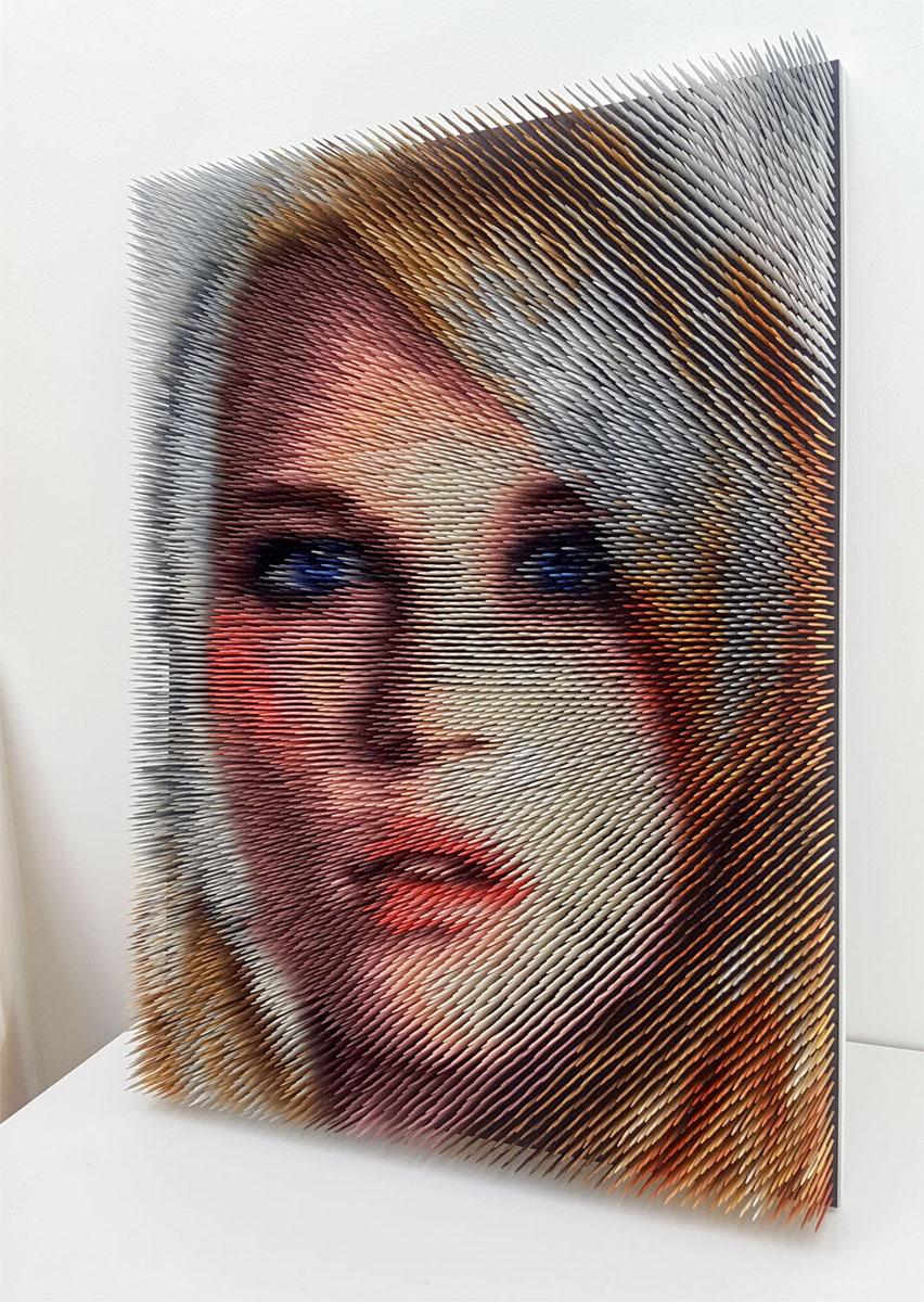 optical portrait #37 (sold)