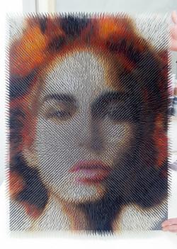 optical portrait #8 (sold)