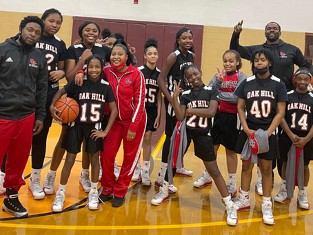 OHMS Girls Basketball Team Undefeated