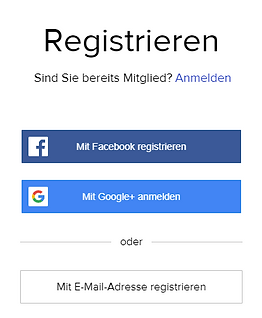 Registrieren Bild