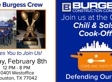 GHBA Chili & Salsa Cook-Off in Houston