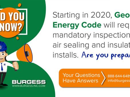 Georgia Energy Code Changes