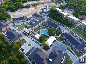 Completed Project Overview of The Scenic at River East
