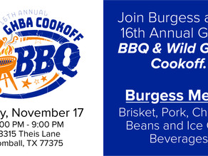 16th Annual GHBA BBQ Cookoff