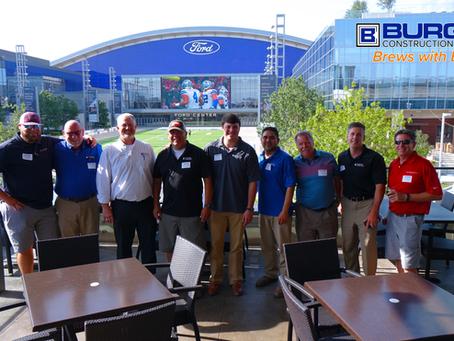 Brews with Burgess - Superintendent & Builders Appreciation Event