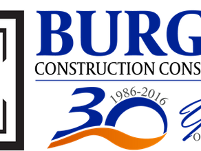 Burgess Construction Consultants, Inc. Celebrates 30 Years in Business