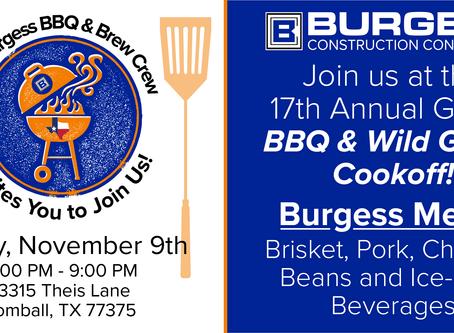 17th Annual GHBA BBQ Cook-off