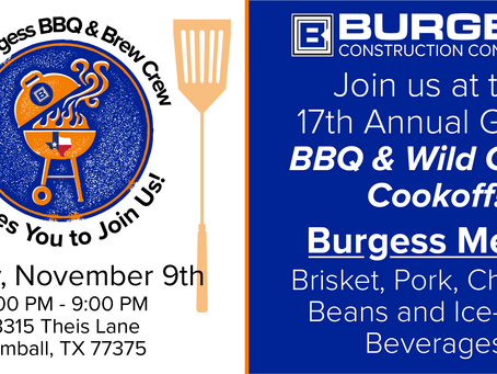 17th Annual GHBA BBQ Cook-off