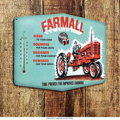 Farmall Thermometer Sign
