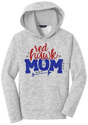 Red Hawks Mom Hoodie