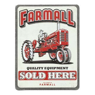 Farmall Fridge Magnet