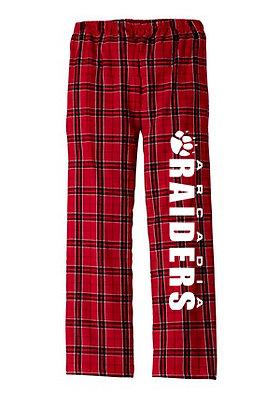 Raiders Flannel Pants