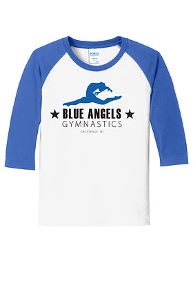 Blue Angels Youth 3/4 Sleeve Tee