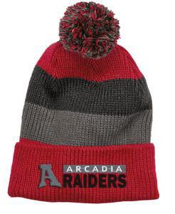501d36ede Raiders Vintage Stripe Beanie