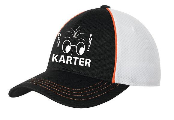Sport-Tek Piped Mesh Back Cap