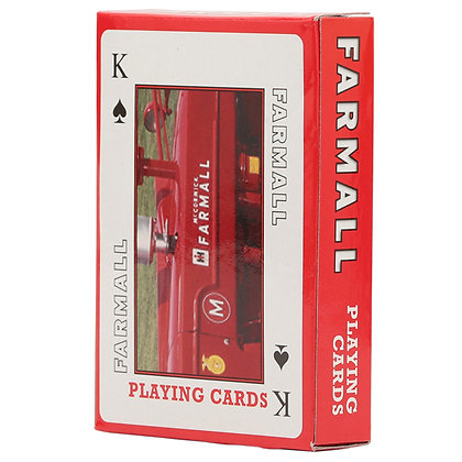 Farmall Playing Cards