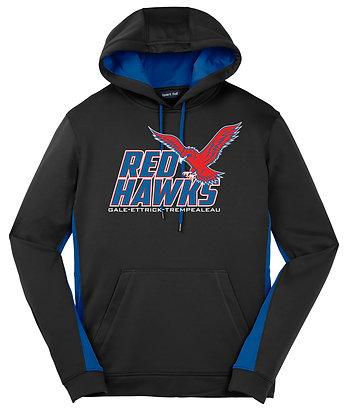 Red Hawk Sport-Wick Hoodie