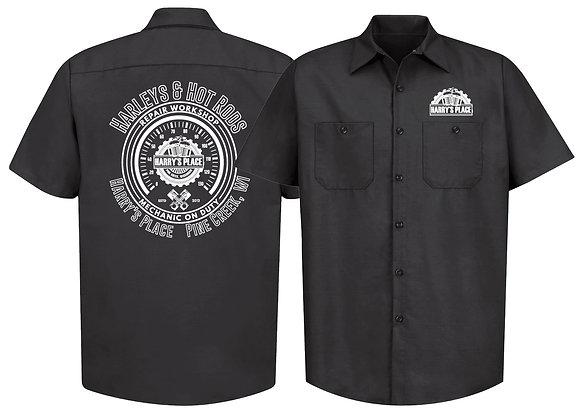 2019 Harleys & Hot Rod Work Shirt