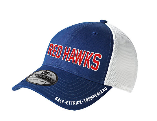 Red Hawks Mesh Fitted  Cap
