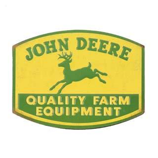 John Deere Fridge Magnet