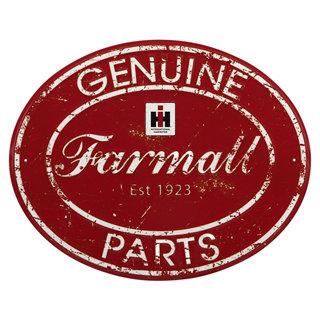 Farmall Large Oval Tin Sign