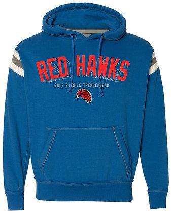 Red Hawk Vintage Athletic Hood