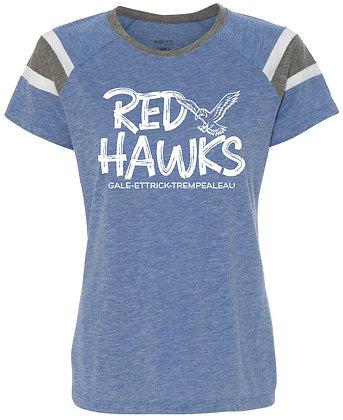 Red Hawk Women's Fanatic Tee
