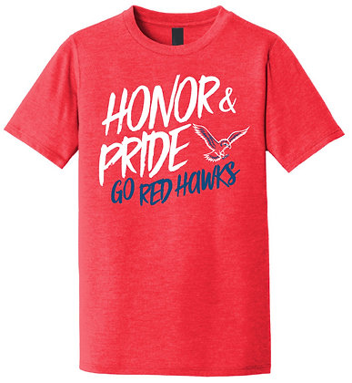 Red Hawk Honor Tri-blend Tee
