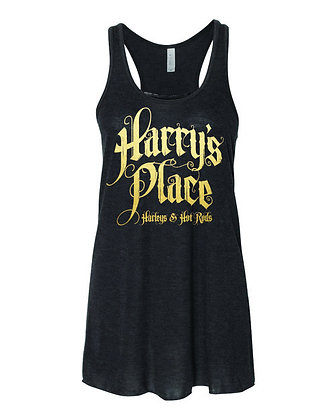 Harry's Place Ladies Flowy Racerback Tank