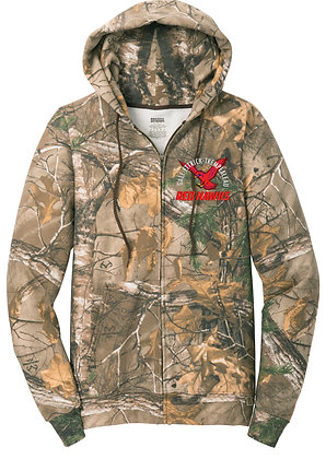 Russell Outdoors Full-Zip Camo Hoodie