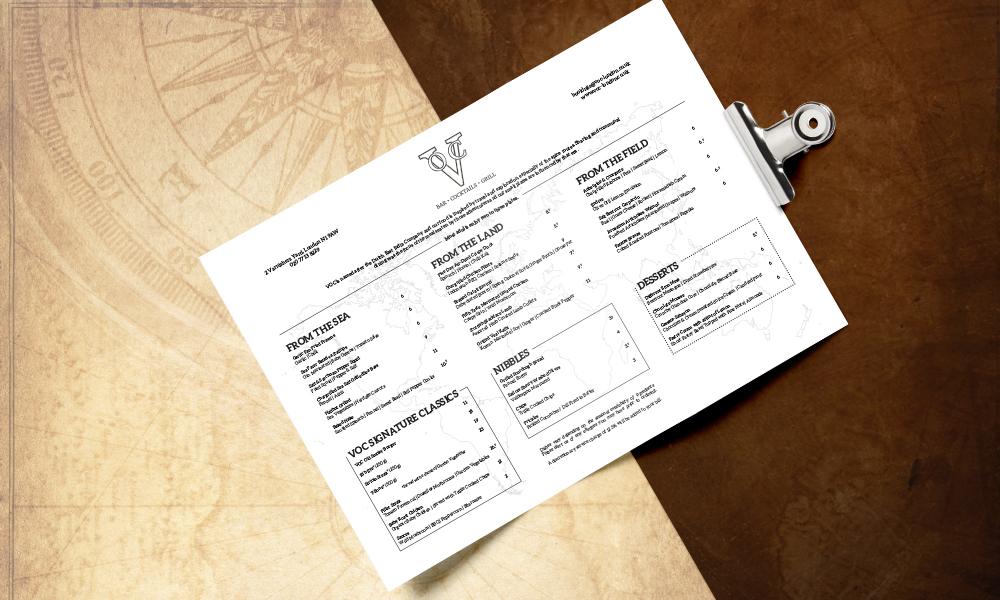 Menu For Olive Garden: VOC Restaurant Marketing Case Study