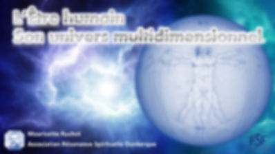 L ETRE HUMAIN SON UNIVERS MULTIDIMENSION