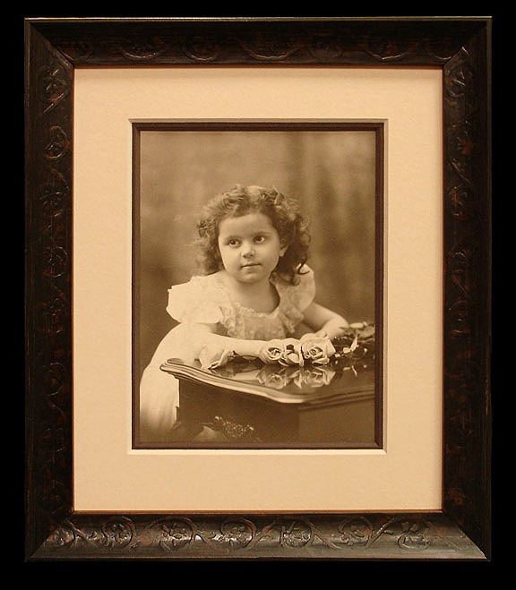 Sepia Photo Girl