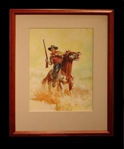 Oil painting by Tom Ryan