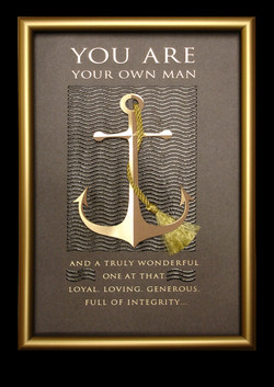 to be a MAN ...